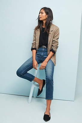 Amo Vintage High-Rise Straight Cropped Jeans