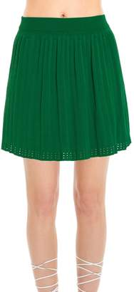Max Studio Rayon & Nylon Sweater Skirt