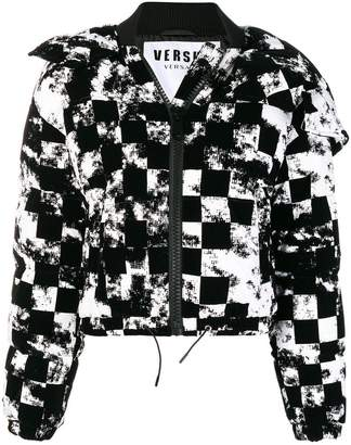 Versus cropped heck jacket