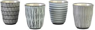 Pols Potten Afresh Pastel Cups - Set of 4