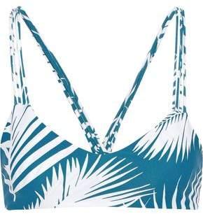Mikoh Palm Beach Printed Bikini Top