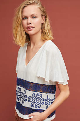 Waverly Grey Falaise Embroidered Blouse