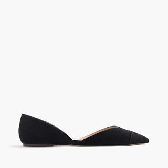 Sadie flats in suede $98 thestylecure.com
