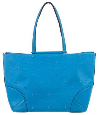 MCM Medium Claudia Stud Shopper Tote