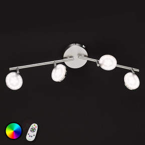 Mehrfarbig leuchtende LED-Deckenleuchte Shelton