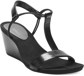 Style & Co. Mulan Wedge Sandals, Only at Macy's $34.98 thestylecure.com