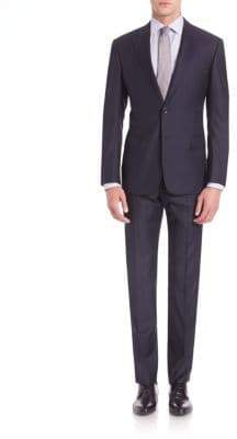 Armani Collezioni Pinstripe Wool Suit