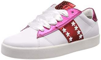 Marco Tozzi Women's 2-2-23708-32 Low-Top Sneakers, (White/Pink Met 104)