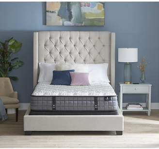 """Hotel Collection by Aireloom 11.5"""" Vitagenic Memory Foam Luxury Firm Mattress Set - California King, Created for Macy's"""