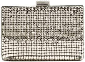Whiting & Davis 'Diamond Drips' Evening Clutch