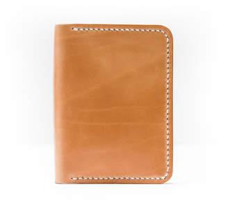 Half Light Bindery Vertical Bifold Leather Wallet