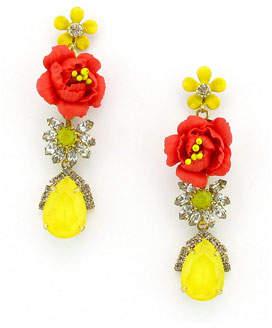 Elizabeth Cole Myers Dangle Earrings