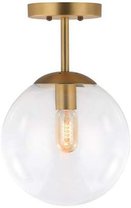Light Society Tesler Globe Ceiling Light