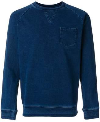 Edwin raglan sleeve sweatshirt