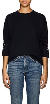 Lisa Perry Women's Cashmere Crewneck Sweater - Navy