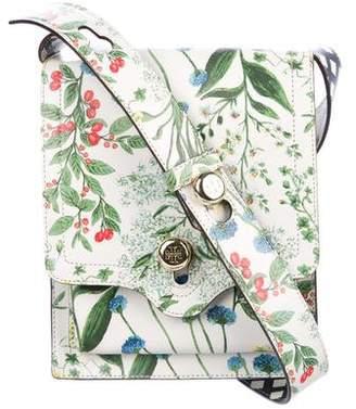 Tory Burch Botanical Printed Messenger Bag
