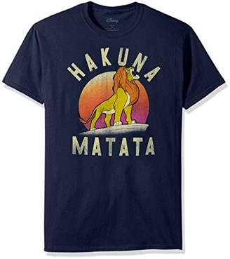 Disney Men's Lion King Simba Pride Hakuna Matata Warrior Graphic T-Shirt
