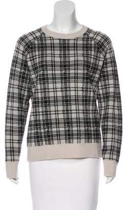 Haute Hippie Plaid Merino Wool Sweater