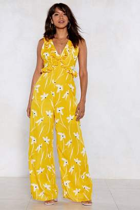 Nasty Gal Summer in the City Floral Jumpsuit