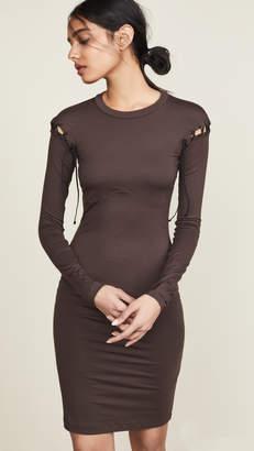 Unravel Project Lace Up Dress