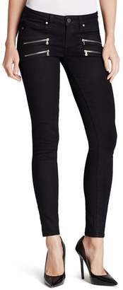 Paige Jeans - Transcend Edgemont Ultra Skinny in Black Shadow