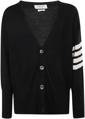 Thom Browne Oversized V-neck Cardigan
