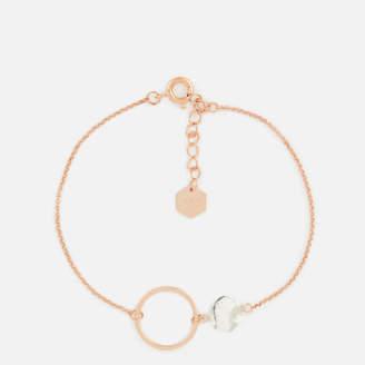 Cluse Women's Idylle Marble Hexagon Chain Bracelet
