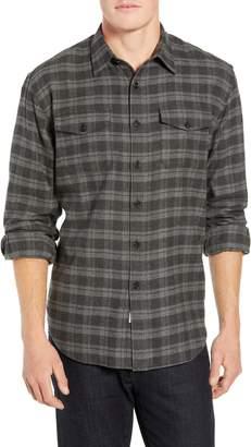 Encanto Coastaoro Regular Fit Plaid Flannel Shirt