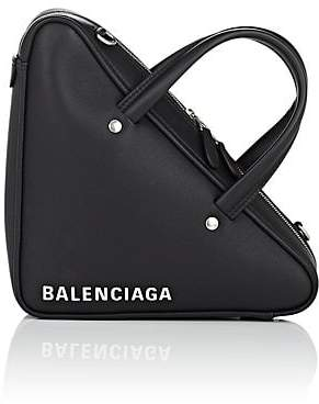Balenciaga Women's Triangle Extra-Small Leather Duffel Bag