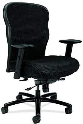 HON Wave Big and Tall Executive Chair - Mesh Office Chair with Adjustable Arms