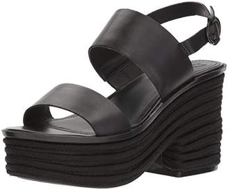 GUESS Women's ninetta Wedge Sandal