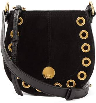 See by Chloe Kriss mini suede & leather cross-body bag