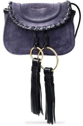 See by Chloe Polly Tasseled Suede Shoulder Bag