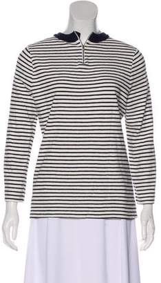 A.L.C. Striped Long Sleeve Sweatshirt