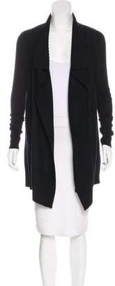 Diane von Furstenberg Draped Wool Cardigan