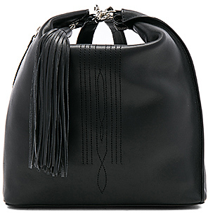 ALLSAINTS Cooper Leather Backpack in Black. $378 thestylecure.com