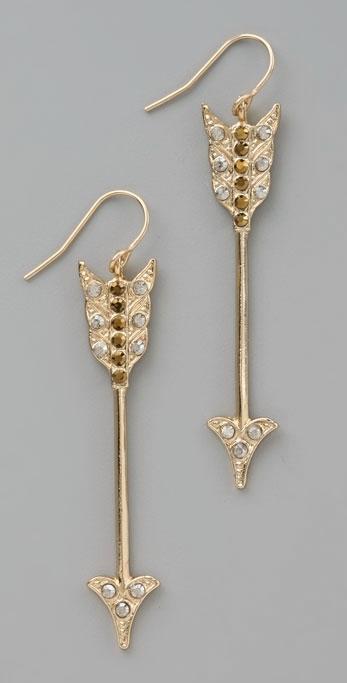 Bing Bang Arrow Earrings