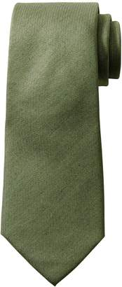 Banana Republic Cotton-Silk Solid Nanotex Tie