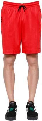 Aw Logo Jacquard Track Shorts