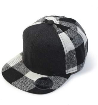 Vintage Year Premium Wool Blend Plaid Adjustable Snapback Baseball Cap f0ea3a07aa9