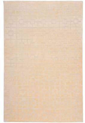 Off-White Colporin Pure Wool Rug