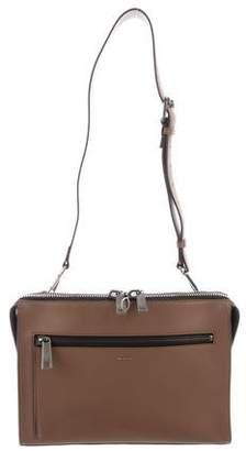 9af551b76c29 Fendi Leather Messenger Bag - ShopStyle