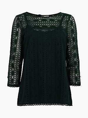 Fat Face Verity Lace Top