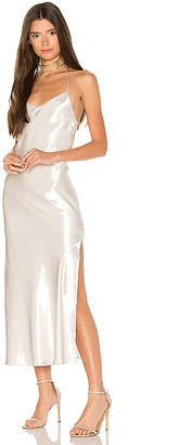 Bardot Pfeiffer Slip Dress in Ivory $99 thestylecure.com