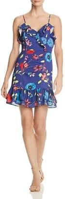 Parker Erica Ruffled Floral Dress