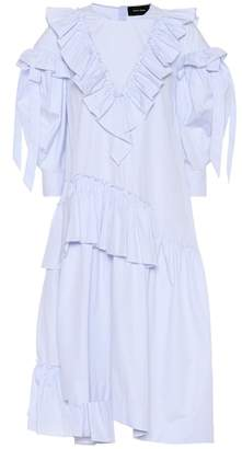 Simone Rocha Striped cotton dress