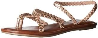 Mia Women's Braid Flat Sandal