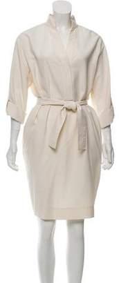 Agnona Silk Knee-length Tunic Dress w/ Tags