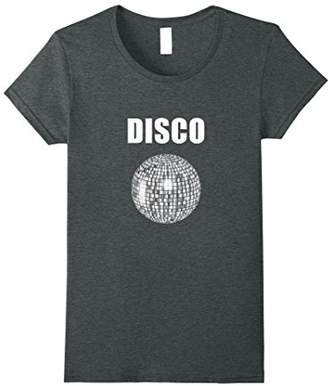 Womens Disco Ball T-Shirt For Funky Soul Music Lovers Small