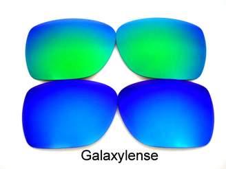 d4cd69fbaf Oakley Galaxylene Galaxy Replacement Lene For Deviation Polarized  Blue Green 2 Pair.
